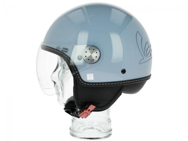 Vespa Helm Demi Jet Visor 3.0 - lichtblauw