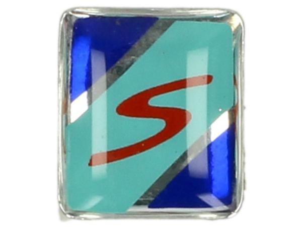 Decor, S, blauw, groen, rood - voor trim spatbord