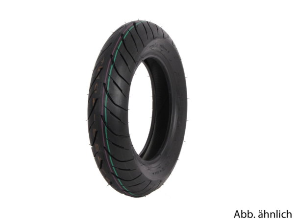 Bridgestone band 130/70-12, 62L, TL, H02 Pro, achteraan