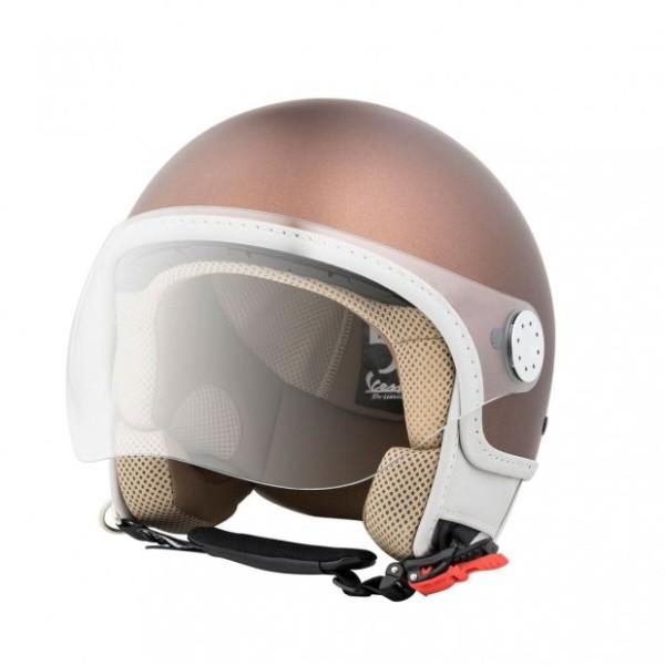 Vespa Helm Demi Jet Primavera 50° 50th Anniversary - bruin