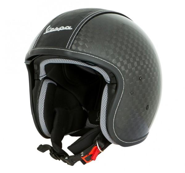 Vespa Helm Jet Carbon