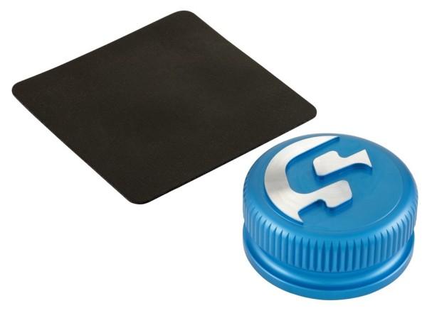 Tankdop voor Vespa, blauw mat