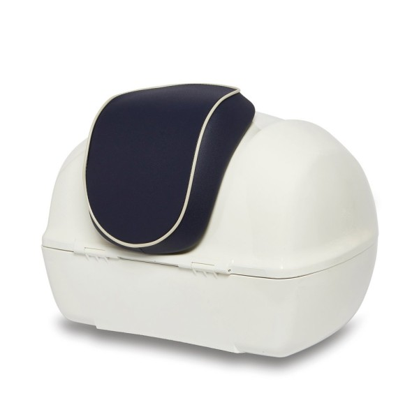 Original Rugsteun Topkoffer Vespa Primavera - Yacht Club Edition blauw