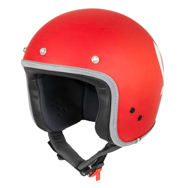 Vespa Helm Jet Colors rood