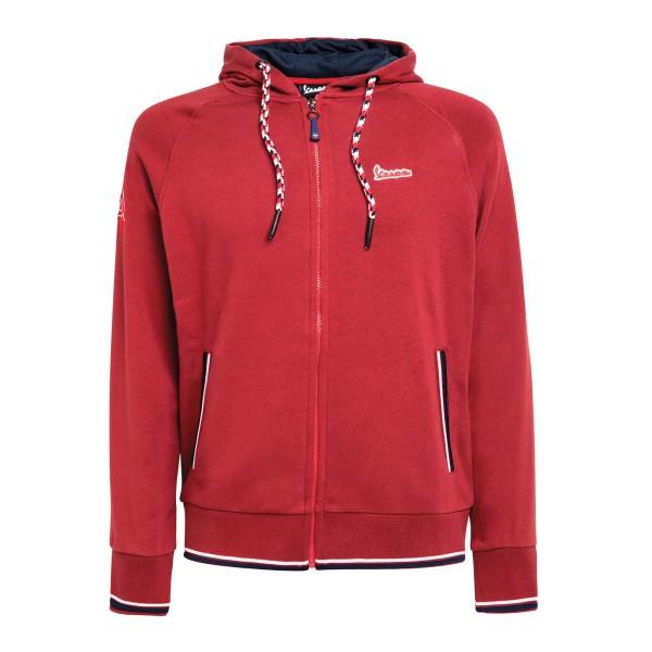 Vespa Modernist Sweatshirt man rood