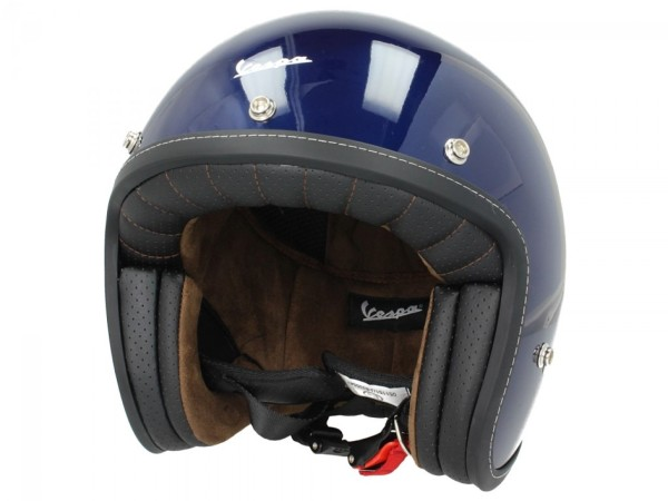 Vespa P-Xential 2.0 open helm - blauw