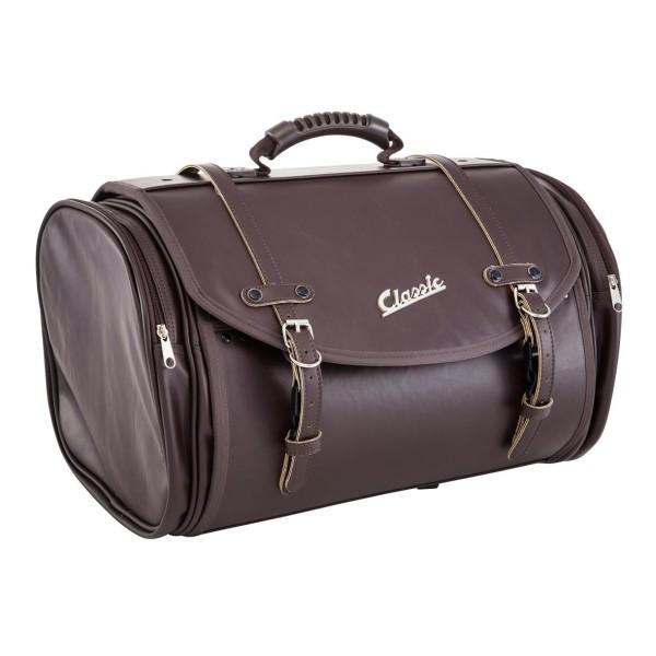 """""""Klassieke"""" tas voor Vespa - donkerbruin, synthetisch leer"""
