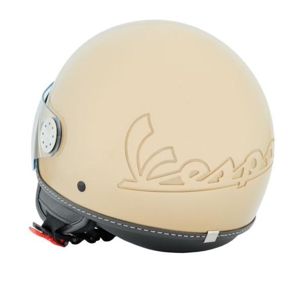 Vespa Helm Demi Jet Visor 3.0 - beige unico