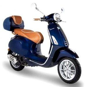 Luxury Line - handvat leer voor Vespa Primavera