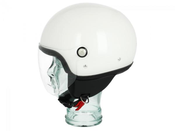 Piaggio P-Style Jet helm wit 566