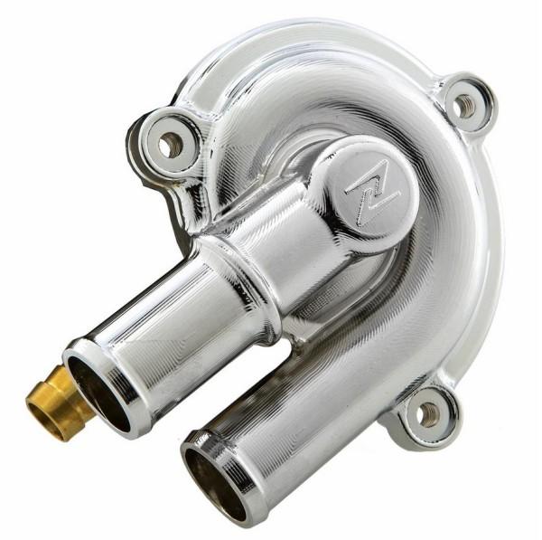 Waterpompdeksel voor Vespa GTS/GTS Super/GTV/GT 60/GT/GT L 125-300ccm 4T LC, chroom