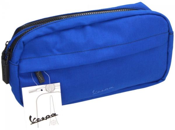 Vespa cosmetische tas blauw