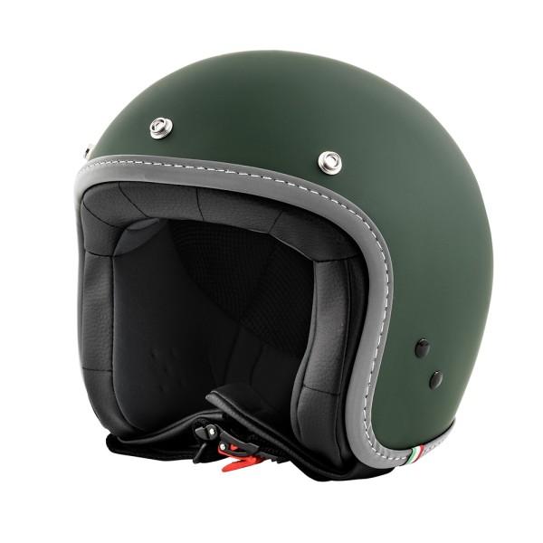 Vespa Helm Jet Colors engels groen
