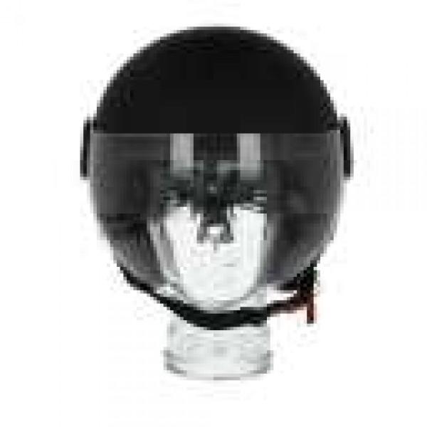 Piaggio open helm AWA Basejet zwart mat
