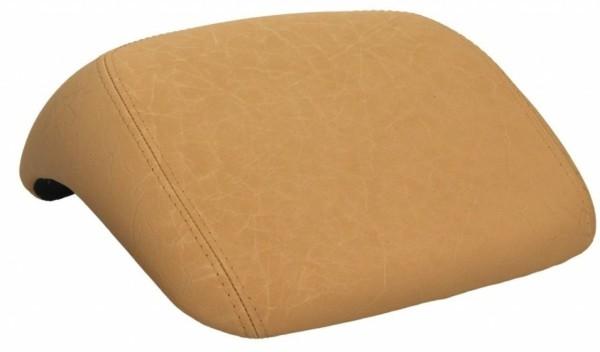 Original Vespa rugsteun, beige glad