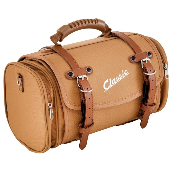 "Kleine ""klassieke"" tas voor Vespa - bruin, nylon"