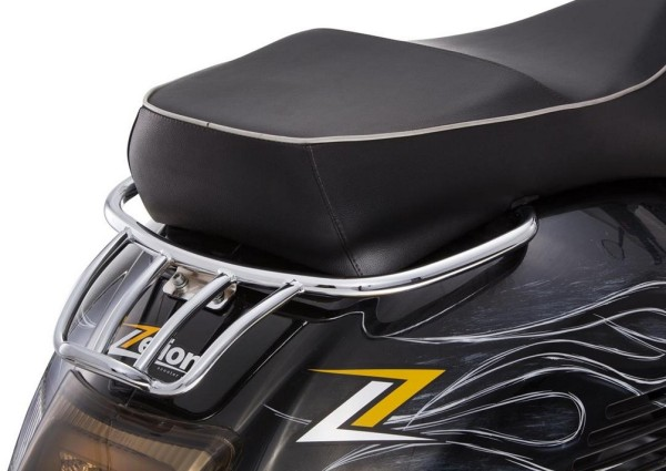Bagage dragerl achter voor Vespa GTS/GTV/GT 125-300ccm 4T LC, chroom