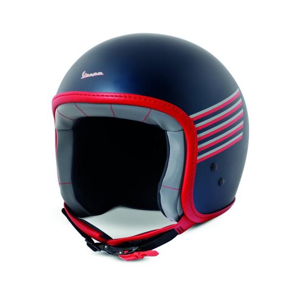 Vespa grafische helm blauw