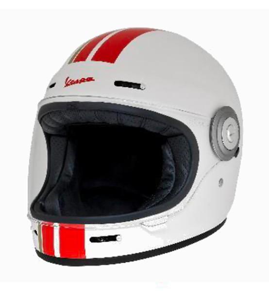 Vespa integraalhelm Racing Sixties 60s rood / wit