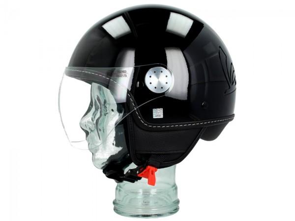 Vespa Helm Demi Jet Visor 3.0 - zwart