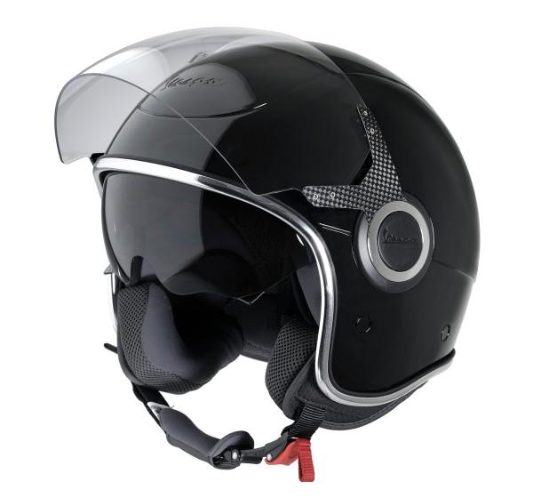 Vespa Helm Demi Jet VJ - zwart