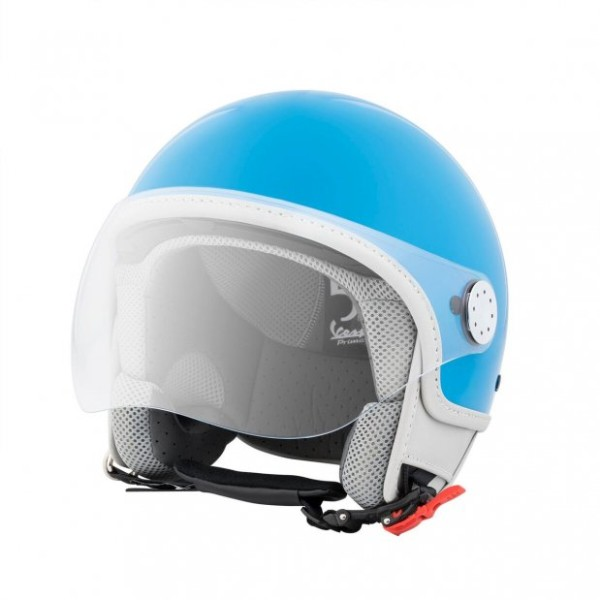 Vespa Helm Demi Jet Primavera 50° 50th Anniversary - blauw