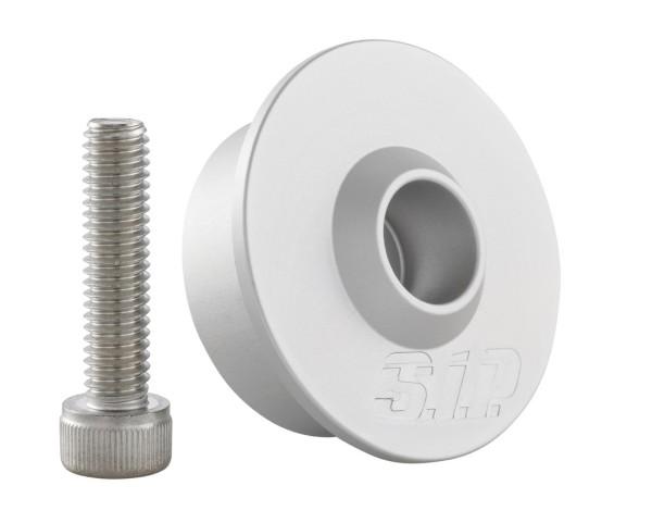 Montageset voor stuuruiteinden spiegel zonder stuuruiteinden-gewichten, MK II, zilver