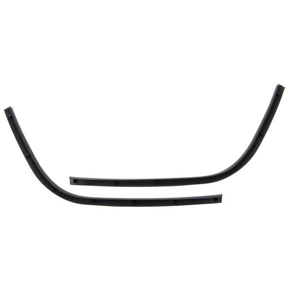 Enkelvoudige buis treeplank zwart glanzend voor Vespa Primavera / Sprint 50-150ccm