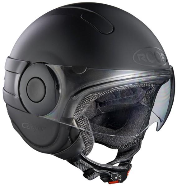 Roof Cooper Mono Jet helm Zwart Matt