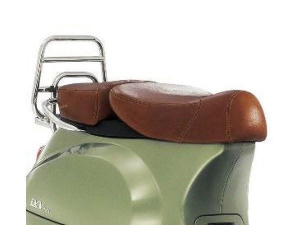 Vespa 2-zits echt lederen stoel voor LX 50-150cc Touring, ET2 / ET4 / LX / LXV / S 50-150cc-