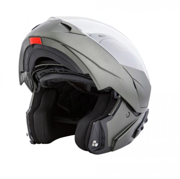 Piaggio modulaire helm groen