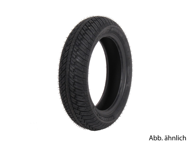Michelin band 130/70-12, 62P, TL, versterkt, City Grip Winter, M+S, voor/achter