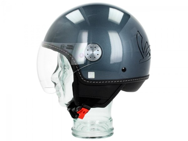 Vespa Helm Demi Jet Visor 3.0 - dolomiti grijs