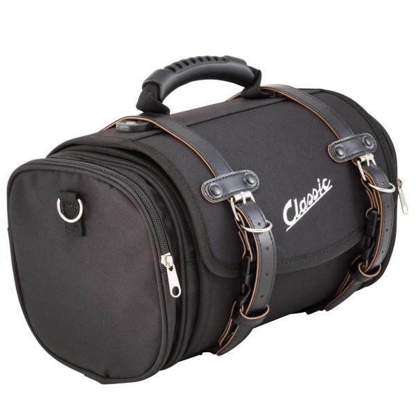 "Kleine ""klassieke"" tas voor Vespa - zwart, nylon"