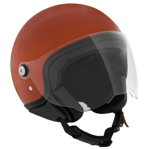 Piaggio P-Style Jet helm rood 854/A