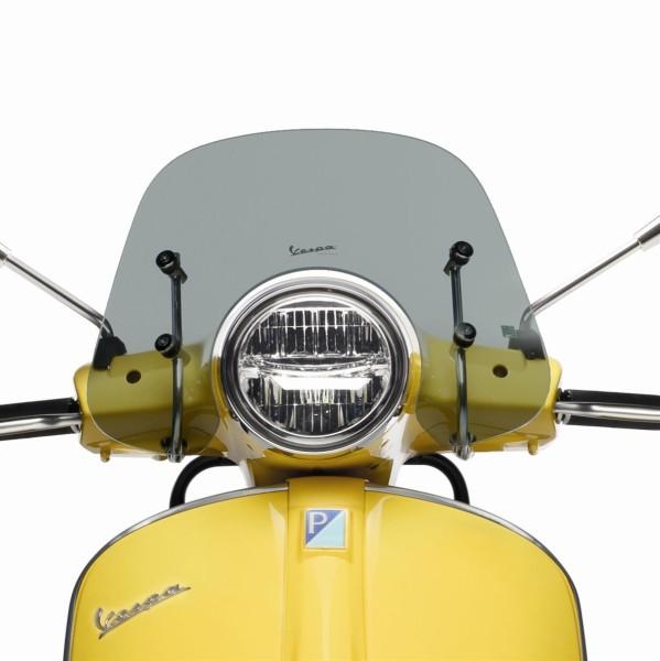 """Sport voorruit """"Cruiser"""" gerookt voor Vespa GTS / Super (HPE & SuperTech) Originele Vespa"""