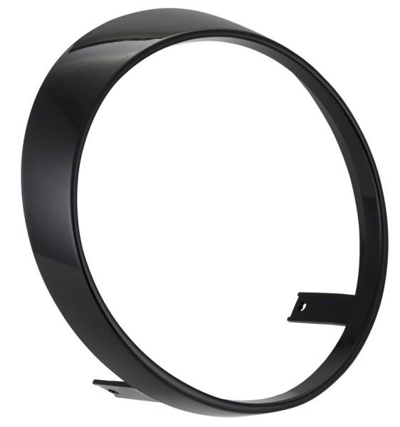 Koplamp rand voor Vespa GTS/GTS Super HPE 125/300 ('19-), zwart glanzend