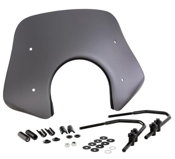 Flyscreen Piccolo voor Vespa GTS/GTS Super/GT/GT L 125-300ccm, zwart-mat