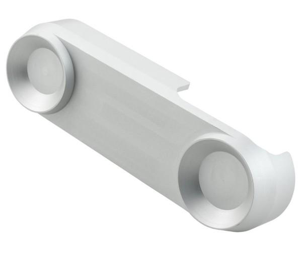 Schokbreker kapje voor Vespa, zilver mat