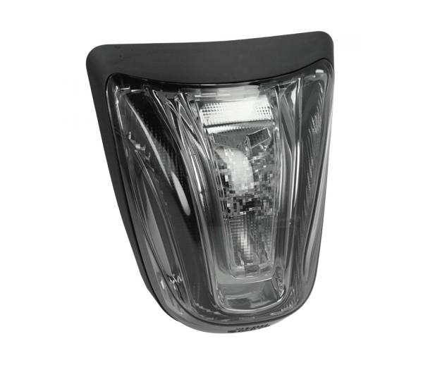 LED-achterlicht zwart, E-goedgekeurd voor Vespa Primavera / Sprint