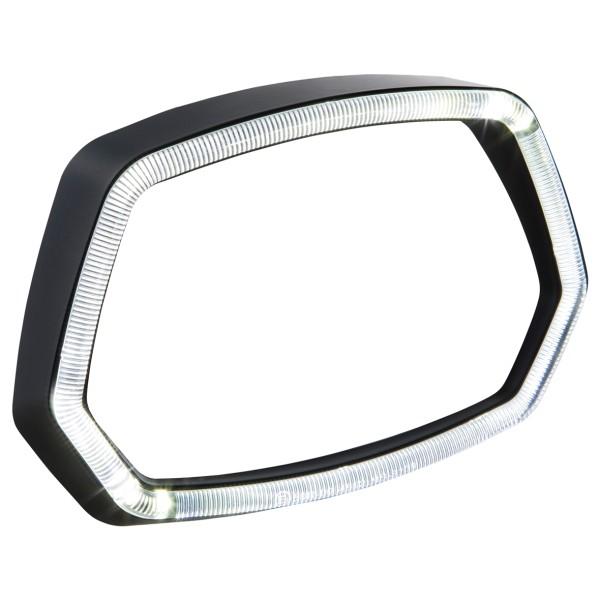 Lampring mat zwart LED lichtring voor Vespa Sprint 125 / 150ccm 4T ('13 -'18)