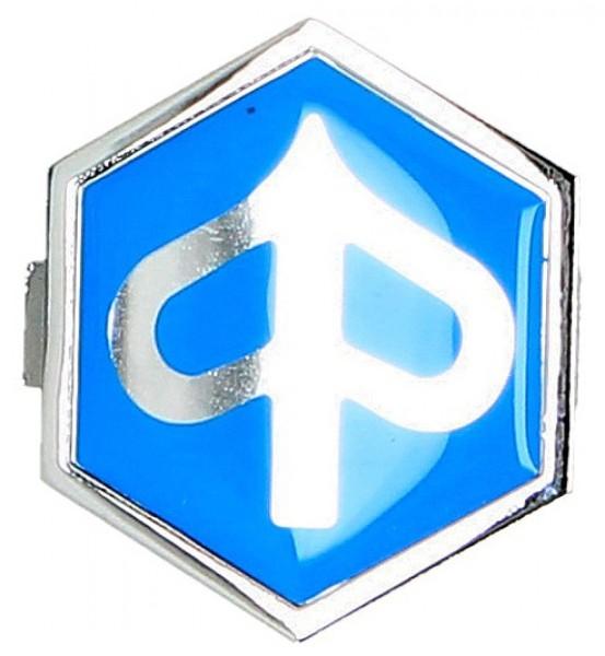"Embleem ""PIAGGIO"" claxonneus, blauw"