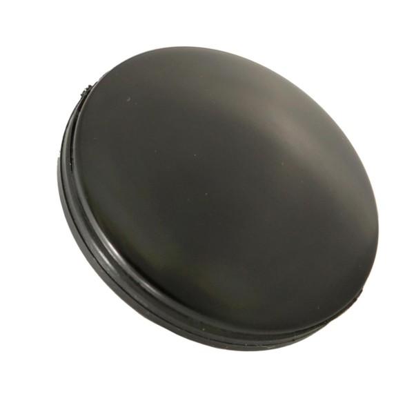 Afdekkap spiegelgat / stuuruiteinden, zwart