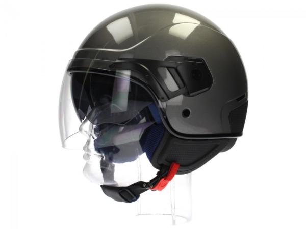 Piaggio PJ Jet helm grijs