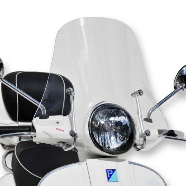Windscherm Sportivo voor Vespa GTS/GTS Super/GT/GT L 125-300ccm, halfhoog, helder