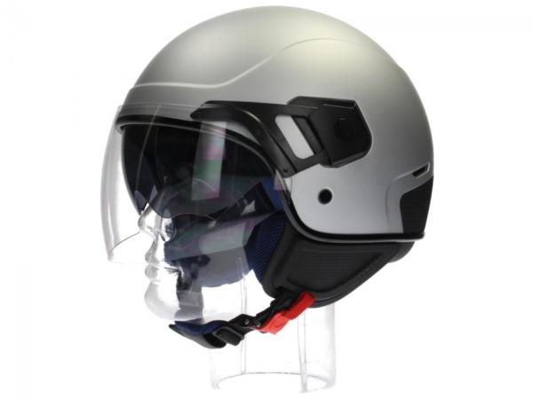Piaggio PJ Jet helm grijs, mat