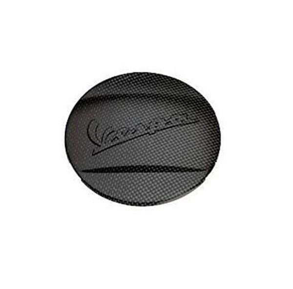 Original Sierstuk Voorsatbord Carbon Look Vespa GTS Super