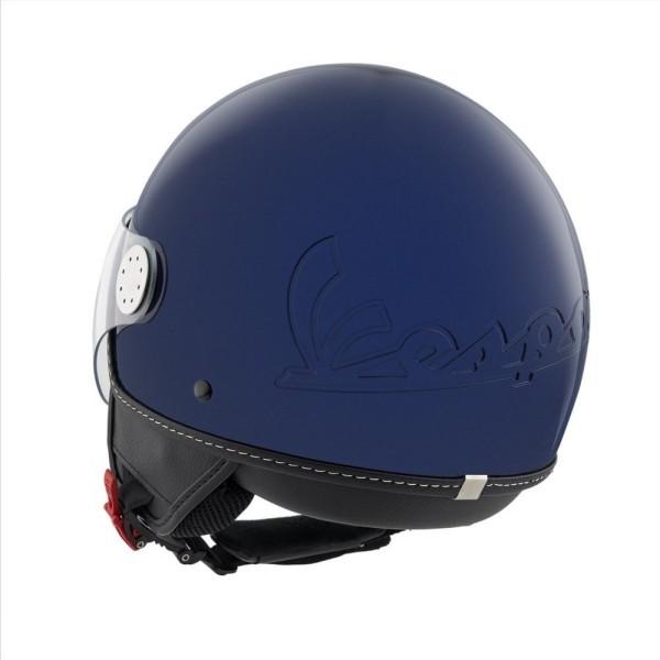 Vespa Helm Demi Jet Visor 3.0 - blauw Energia