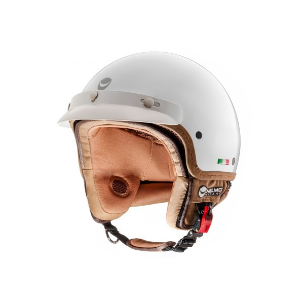 Helmo Milano open helm, FuoriPorta, wit