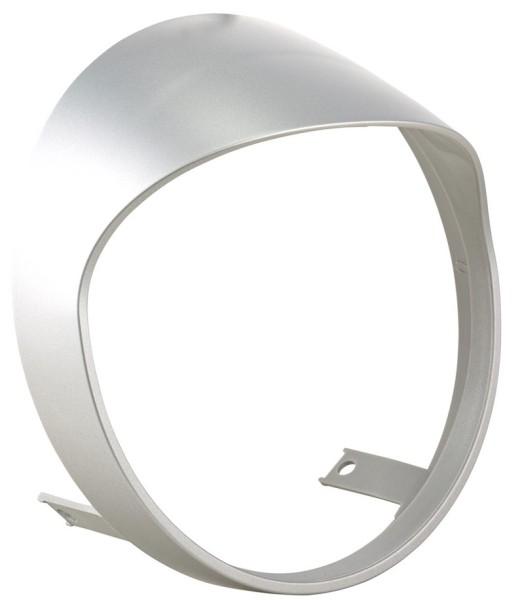Koplamp rand voor Vespa GTS/GTS Super HPE 125/300 ('19-), zilver mat